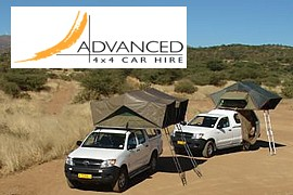 Advanced Car Hire, 4x4, camper rental in Windhoek