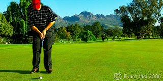 Holiday and Golf in the Cape Winelands