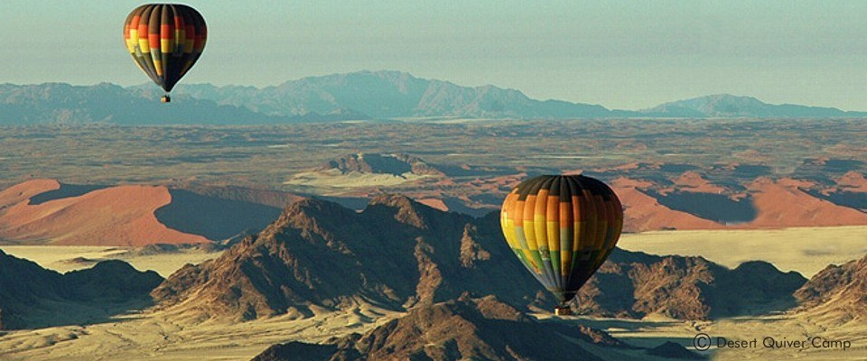 Unforgettable hot air balloon experiences in Namibia