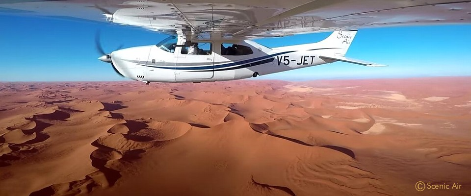 Unforgettable fly-in safari in the Namib desert
