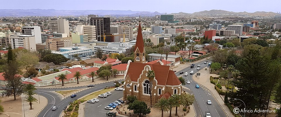 Unforgettable sightseeing and city tour in Windhoek