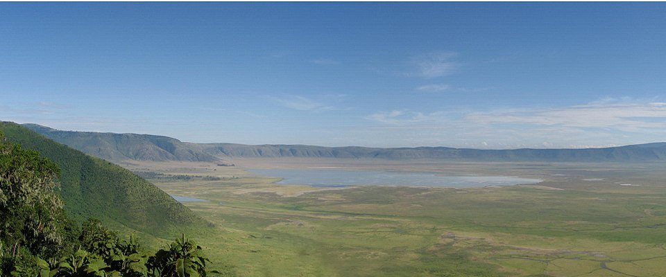 View of the Ngorogoro Crater with Africa Adventure