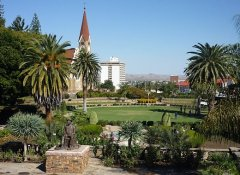 Windhoek sightseeing on Acacia Namibia's self-drive tour