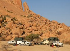 Africa Adventure Travel, Camping at Spitzkoppe in Namibia