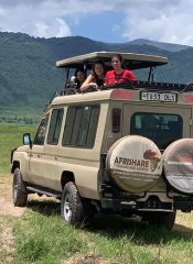Game watching in Tanzania on Afrishare Trekking & Safaris