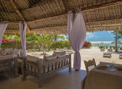 Lounge at Alawi Boutique Hotel and restaurant in Watamu