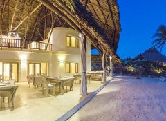 Alawi Boutique Hotel and beach restaurant in Watamu