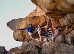 Hiking in the Cape to San rock art with All Africa Tours