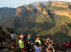 With All Africa Tours at the Blyde River Canyon