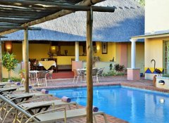 Pool at Amadeus Garden Guesthouse in Victoria Falls