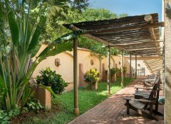 Rooms with patio at Amadeus Garden in Victoria Falls
