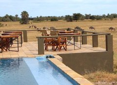On AA Africa safaris at a luxury bush lodge in Tanzania