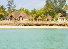 Aya Beach Bungalows and beach restaurant in Zanzibar