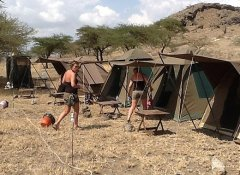 Budget camping safari in Africa on Biko Adventures Tours