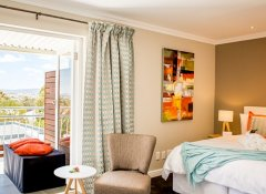 Sea view room at Bloemenzee Boutique B&B in Gordon's Bay