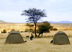 Tented camp at Bobby Camping Safaris & tours in Tanzania
