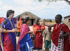 Day trip to a Maasai village with Budget Safari Tanzania