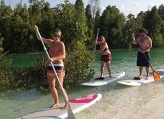 SUP fun activity in Zanzibar with Budget Safari Tanzania