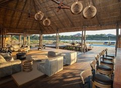 Luxury Chikunto Safari Lodge with pool in South Luangwa