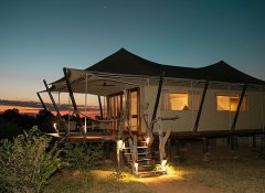 Luxury tented Chikunto Safari Lodge in South Luangwa