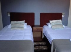 Twin Room at Delagoa Bay City Inn and hotel