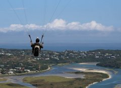 Dolphin Paragliding training in Wilderness and Knysna