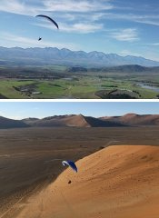 Dolphin Paragliding tours in South Africa and Namibia