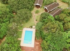 Swimming Pool at Dream Beach Lodge in Ponta do Ouro