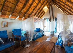 Family chalet at Flatdogs Camp in South Luangwa Park