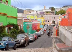 Cycling the Bo-Kaap in Cape Town on Go Self-Drive Tours