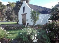 Wedding chapel at Green Olive Guesthouse in Robertson