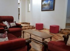 Second lounge at Grey Oak Holiday House in Bulawayo