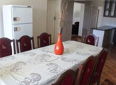 Dining area at Grey Oak Holiday House in Bulawayo