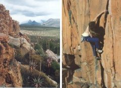 Rock climbing trip in the Cape with High Adventure Africa