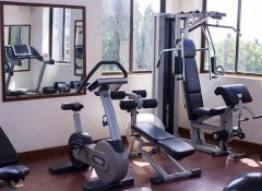 Fitness centre at Hotel de Mag in Dar es Salaam
