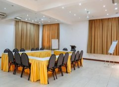 Conference room at Hotel de Mag in Dar es Salaam