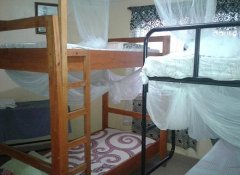 6-bed dormitory at JJ & JE Family House in Dar es Salaam