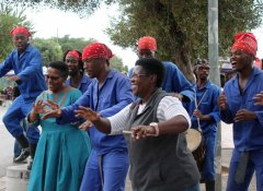Dancing in Soweto