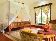 Double room at Kilemakyaro Mountain Lodge, Moshi