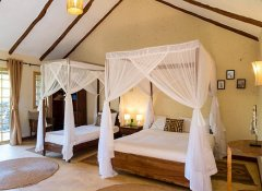 Child-friendly lodge room at Kili Villa in Arusha