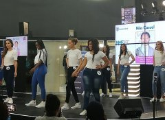 Fashion show in Windhoek at Maerua Mall Shopping Centre