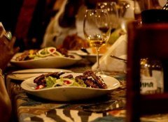 Marco's African Place's international dishes in Cape Town