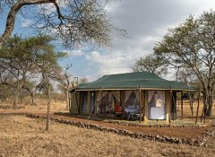 Luxury African camp on Mauly Tours & Safaris in Tanzania