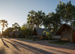 Budget chalets at Maun Lodge and hotel in Maun