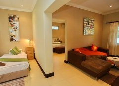 Family suite at Minen Hotel in Tsumeb in Namibia
