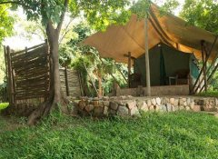 Mvuu Lodge's chalet for self-catering in Lower Zambezi