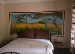 Guest bedroom at Mwitongo Lodge
