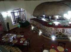 Restaurant at Mwitongo Lodge