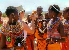Maasai people in Tanzania on Nurtured Wildlife Safaris