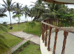 Balcony with sea view at Oceanic Bay Hotel & Resort